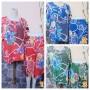 foto utama Baju Santai Setelan Piyama Babydoll Batik Kulot Motif bunga manis Busui Friendly Kualitas Juara