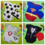 foto utama Kado bayi PLUS TOPI jumper bayi anak Jumper baby newborn 0-9bulan Aneka karakter