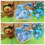 paket kado bayi baby gift kado lahiran parcel bayi parsel kado bayi keranjang wipes spesial Teddy Bear imut