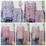 foto utama piyama batik dewasa celana panjang lengan pendek CP JUMBO motif Bunga Rambat Aneka Warna (2)