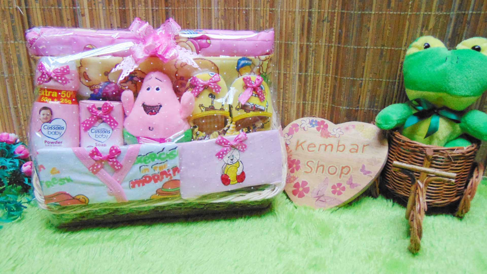 TERLARIS paket kado bayi baby gift parcel bayi parcel kado bayi kado lahiran gendongan prewalker komplit ANEKA WARNA (1)