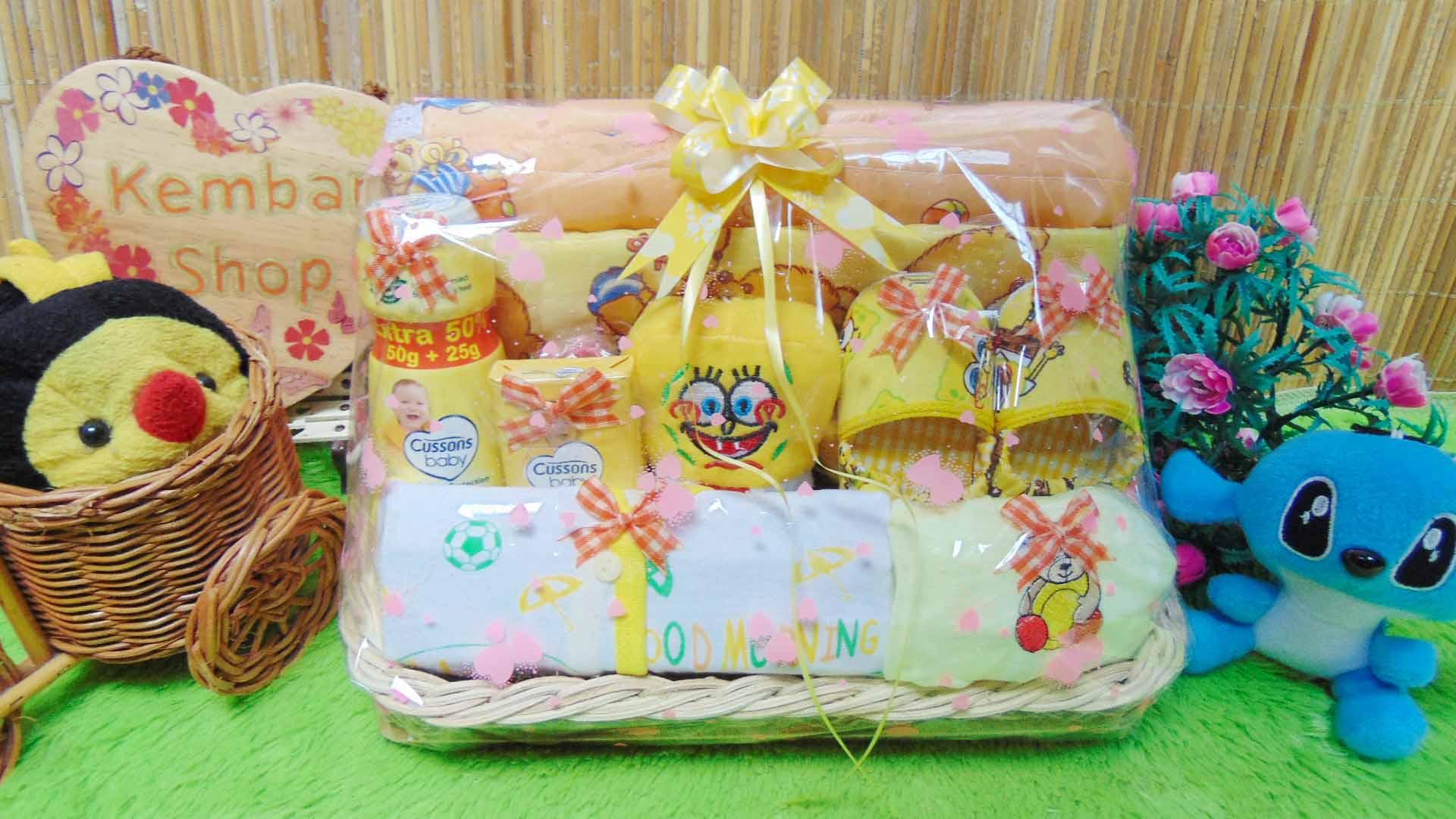 TERLARIS paket kado bayi baby gift parcel bayi parcel kado bayi kado lahiran gendongan prewalker komplit ANEKA WARNA (2)