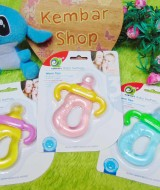 Gigitan bayi Aobaoli water filled teether dot botol susu Aneka Warna Lucu