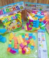 Kado ulang tahun anak MAINAN EDUKASI EDUKATIF ANAK Lego Blok Learning Toys Kids Blocks Intellect Set isi 72pcs