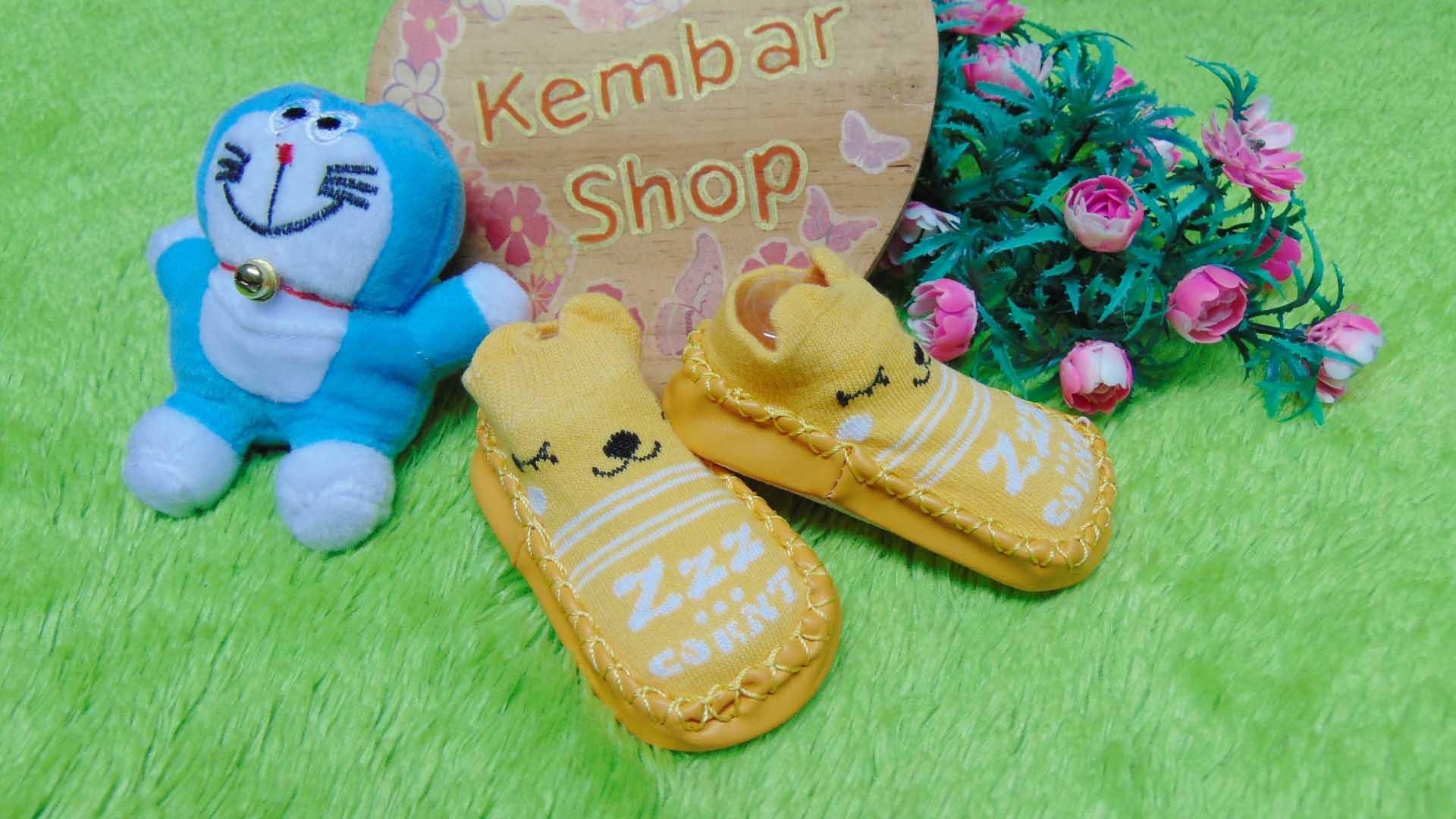 Sepatu Bayi Prewalker Kaos Kaki Anak Import babyfit PATTERN MOCCASINS size 13