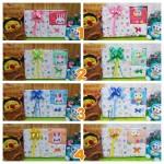 FREE KARTU UCAPAN Kado Lahiran Paket Kado Bayi Newborn Baby Gift Box Lebah Rajut Full Package Aneka Warna