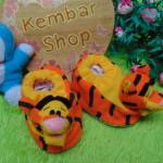 kado bayi baby gift set sepatu prewalker alas kaki newborn 0-6bulan lembut motif Tiger Harimau