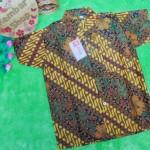 Baju batik bayi anak laki-laki kemeja batik batita hem anak cowok 2-4th baju pesta motif parang kembang