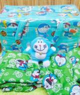 Kado bayi Persiapan melahirkan Paket Hemat spesial Bundling Tas, Gendongan, Ganci Doraemon (3)