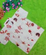 baju batik bayi anak laki-laki kemeja batik batita hem anak cowok uk 1-3th baju pesta motif burung