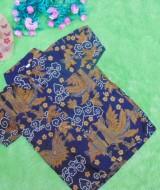 baju batik bayi anak laki-laki kemeja batik batita hem anak cowok uk 1-3th baju pesta motif jathayu