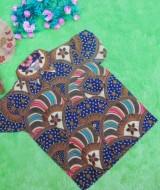 baju batik bayi anak laki-laki kemeja batik batita hem anak cowok uk 1-3th baju pesta motif kipas