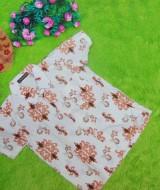baju batik bayi anak laki-laki kemeja batik batita hem anak cowok uk 1-3th baju pesta motif ornamen