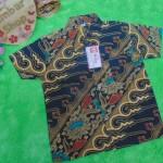 baju batik bayi anak laki-laki kemeja batik batita hem anak cowok uk 1-3th baju pesta motif parang gede