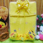 FREE KARTU UCAPAN Kado Lahiran Box Paket Kado Bayi Perempuan Cewek Baby Gift Set Gamis Sock Jilbab