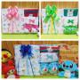 foto utama FREE KARTU UCAPAN Kado Lahiran Paket Kado Bayi Newborn Baby Gift Box Full Package Sock Aneka Karakter