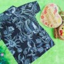 baju batik bayi anak laki-laki kemeja batik batita hem anak cowok uk 1-3th baju pesta motif abu ireng