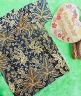 baju batik bayi anak laki-laki kemeja batik batita hem anak cowok uk 1-3th baju pesta motif godhong telo
