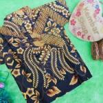 baju batik bayi anak laki-laki kemeja batik batita hem anak cowok uk 1-3th baju pesta motif parang mas pari