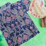baju batik bayi anak laki-laki kemeja batik batita hem anak cowok uk 1-3th baju pesta motif sulur campur