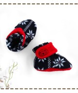 kado sepatu bayi prewalker baby newborn 0-6bulan booties cuddleme motif Scandinavian Navy