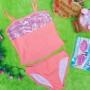 FREE KACAMATA RENANG bikini branded SO orange blink 8-10tahun 69 muat kira-kira untuk anak 8-10 tahun lebar dada 33cm(sblm melar),lebar pinggang 31cm (sblm melar)