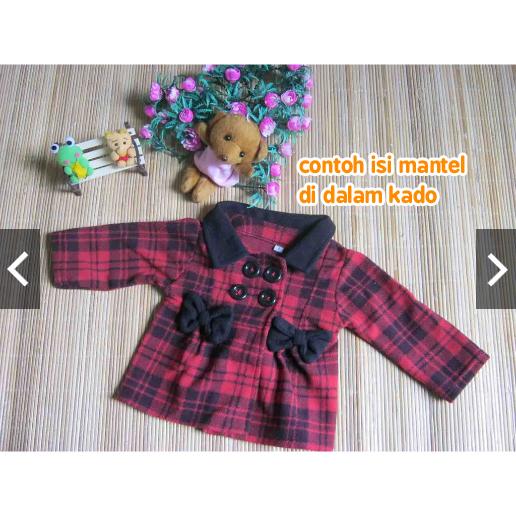 FREE KARTU UCAPAN kado bayi baby gift set jaket mantel bayi cewek perempuan plus kaos kaki boneka (1) copy