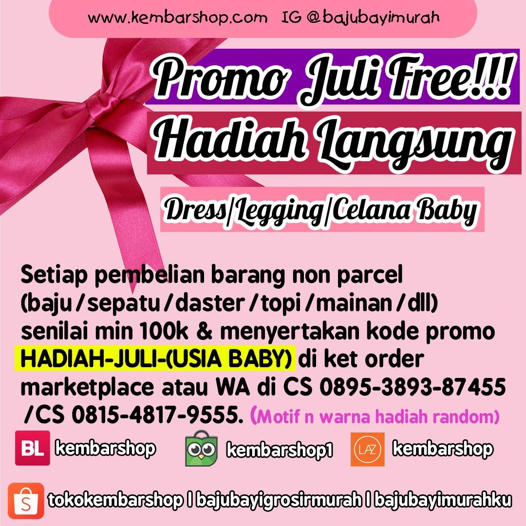 promo juli 2019 baju bayi murah gratis