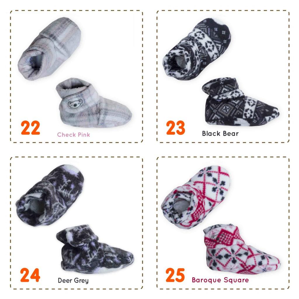 kado sepatu bayi prewalker baby newborn 0-6bulan booties cuddleme Aneka Motif (1)
