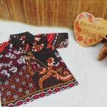 baju pesta kemeja batik bayi laki-laki cowok hem atasan anak baby 0-2th truntum anyam 02