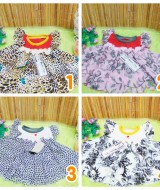 dress baju pesta bayi anak perempuan BELLA mix assorted copy