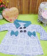jaket bayi blazer baby mantel bayi hangat lembut 0-18bulan motif aztec ungu bulu (2)