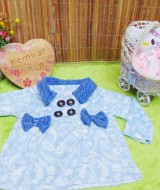 jaket bayi blazer baby mantel bayi hangat lembut 0-18bulan motif soft blue shabby (2)