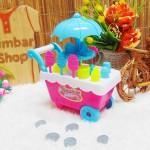 utama FREE BUBBLE WRAP Kado Ulang Tahun Mainan Edukasi Edukatif Gerobak Ice Cream Es Krim Medium Warna Random (2)