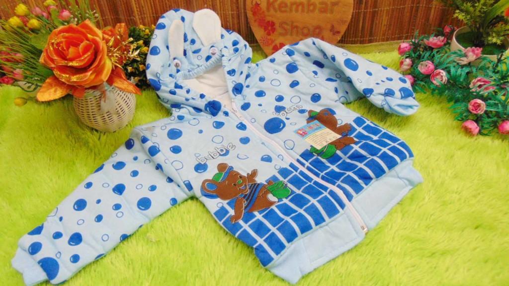 Baju Jaket Bayi Newborn 0-12bulan Bubble Lucu Hangat Murah (1)