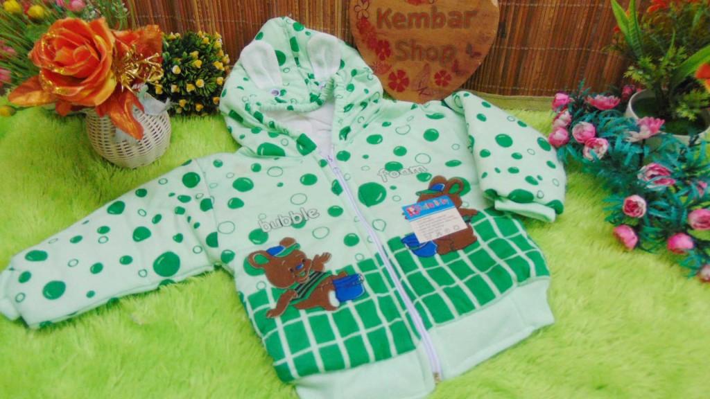 Baju Jaket Bayi Newborn 0-12bulan Bubble Lucu Hangat Murah (2)
