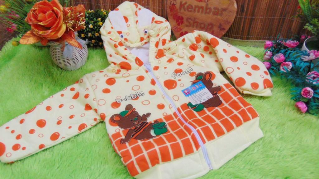 Baju Jaket Bayi Newborn 0-12bulan Bubble Lucu Hangat Murah (3)