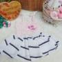 dress hawai tali pundak bayi newborn perempuan 0-6bulan motif salur