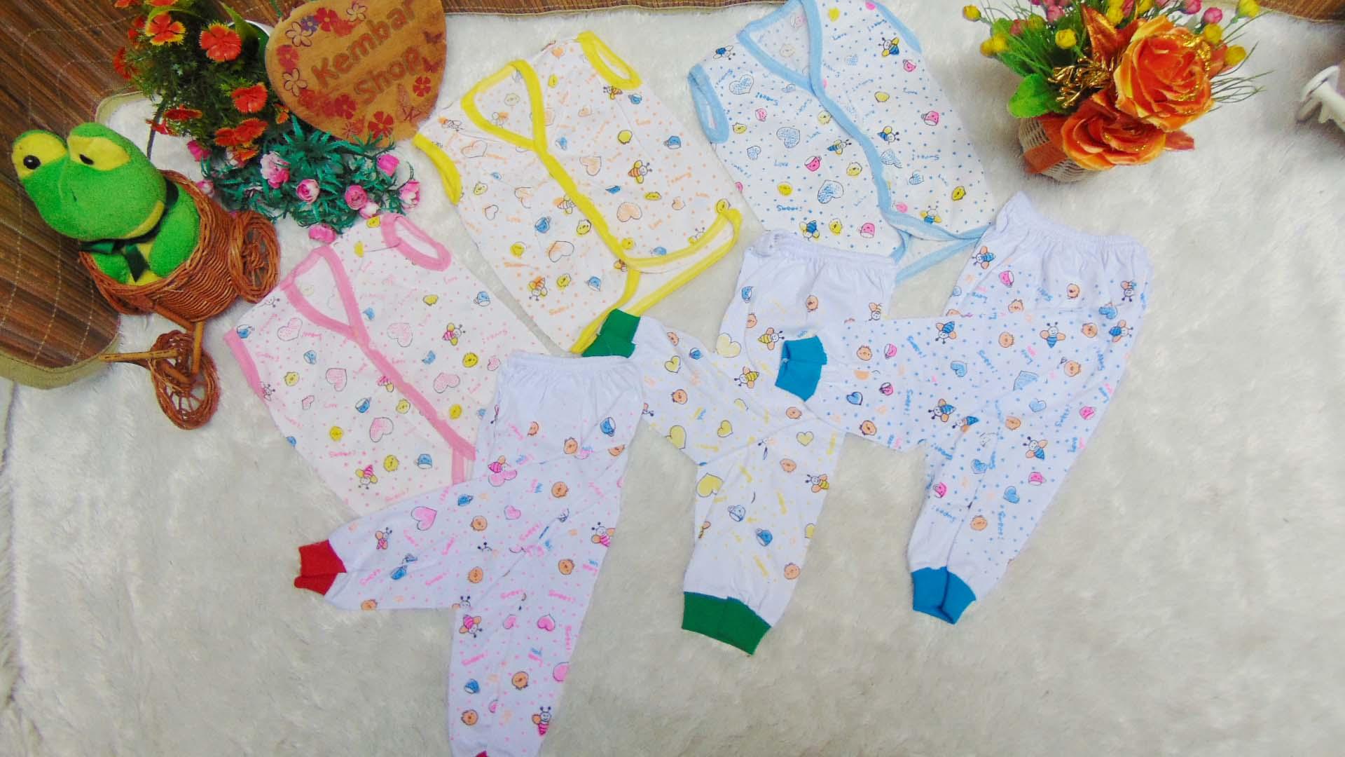 paket hemat 3set setelan baju kutung tanpa lengan bayi (1)