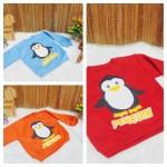 utama jaket baju hangat sweater kancing pundak bayi 0-2th motif penguin (1)