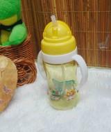 FREE BUBBLE WRAP tenpat botol minum anak bayi batita balita PAUD dengan pegangan dan sedotan (4)