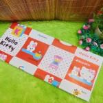 sampul kado bayi kertas kado lahiran baby gift motif Hello Kitty Kotak Merah