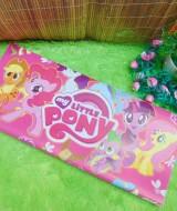 sampul kado bayi kertas kado lahiran baby gift motif Little Pony Big Pink