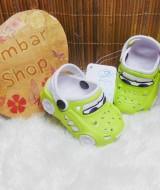 sandal sendal sepatu anak balita batita karet karakter mobil cars (2)