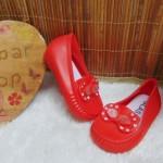 sepatu jelly anak bayi batita lentur diamond cantik empuk (2)