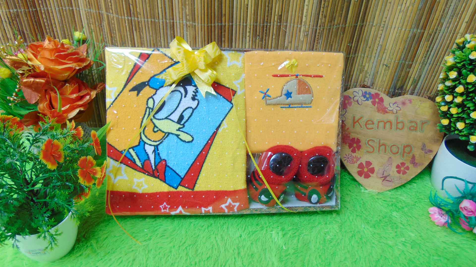 FREE KARTU UCAPAN paket kado bayi baby gift set box (2)
