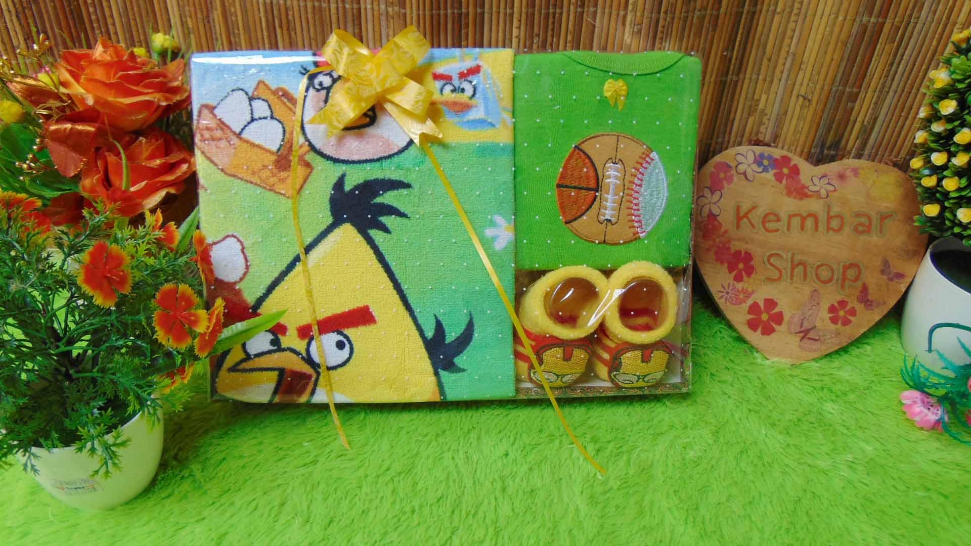 FREE KARTU UCAPAN paket kado bayi baby gift set box (3)