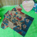 baju pesta kemeja batik bayi laki-laki cowok hem atasan anak baby 0-2th cokelat ganteng