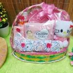 FREE KARTU UCAPAN Parcel Kado Bayi Baby Gift Tangkai Dress Lengkap Baby Girl Perempuan (3)