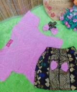 Setelan Baju Batik Kebaya Kimono Bayi 0-12bulan Plus